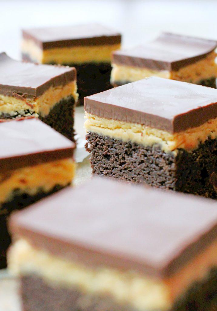 Buckeye Brownies by Foodtastic Mom