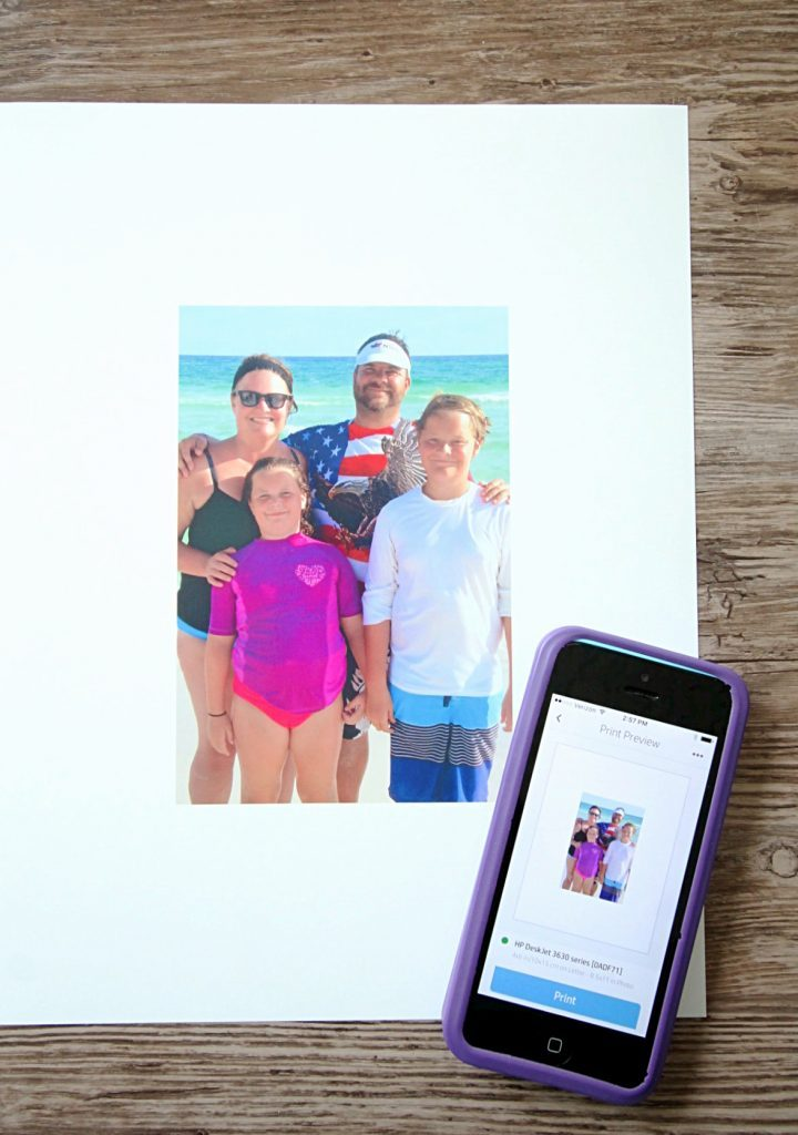 Back to School Printing Station by Foodtastic Mom #CreatewithHP #ad