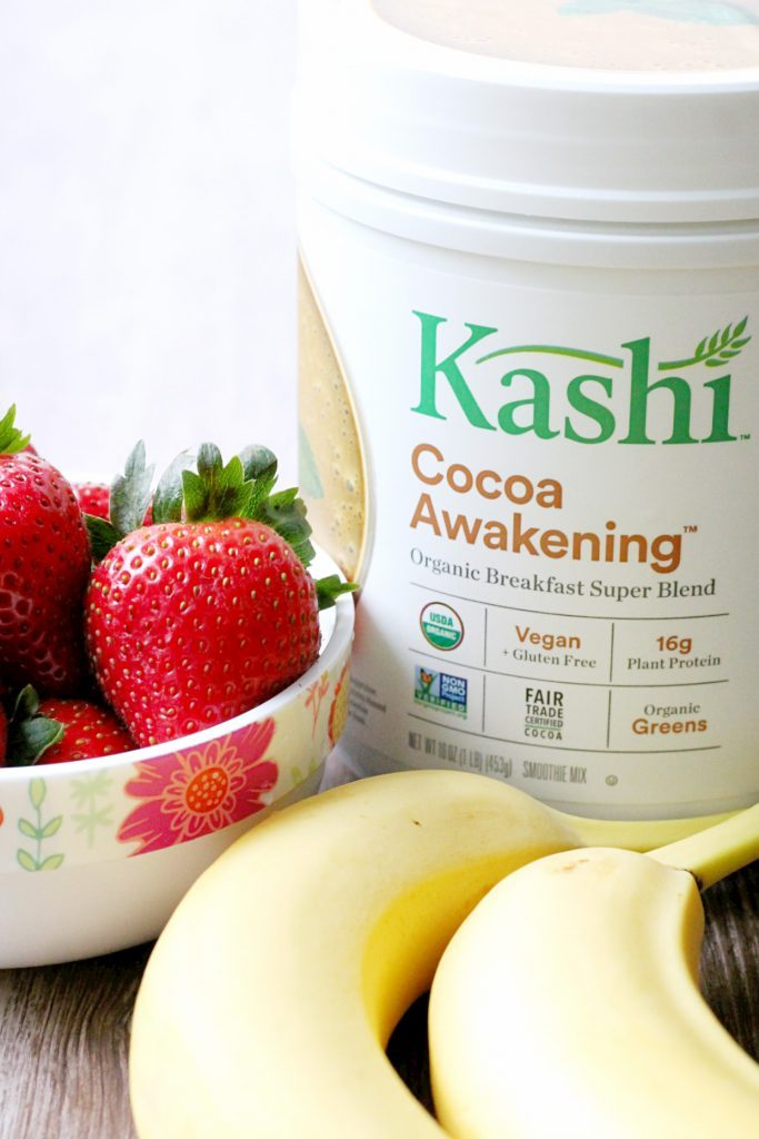Banana Cocoa Nice Cream Breakfast Bowl by Foodtastic Mom #KashiPlantPower #GOTOGETHER #ad