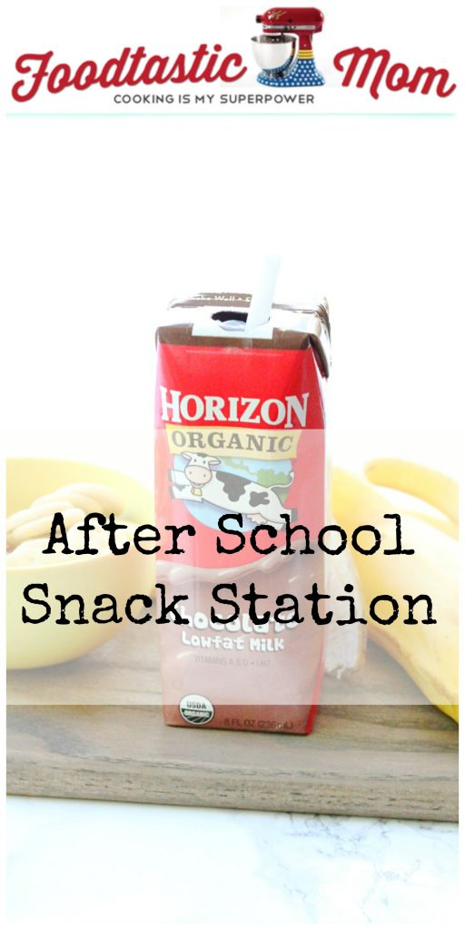 After School Snack Station by Foodtastic Mom #HorizonLunch #ad