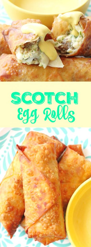 Scotch Egg Rolls