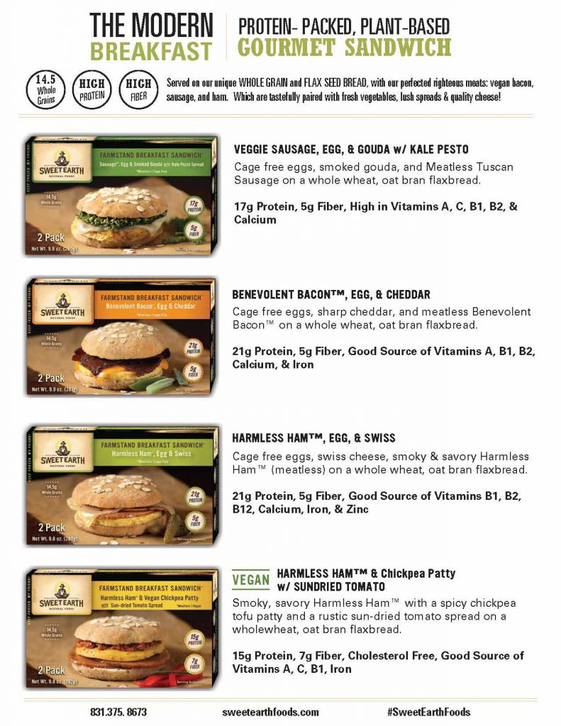 Sweet Earth Breakfast Sandwich Review by Foodtastic Mom #SweetEarth #BetterBreakfast