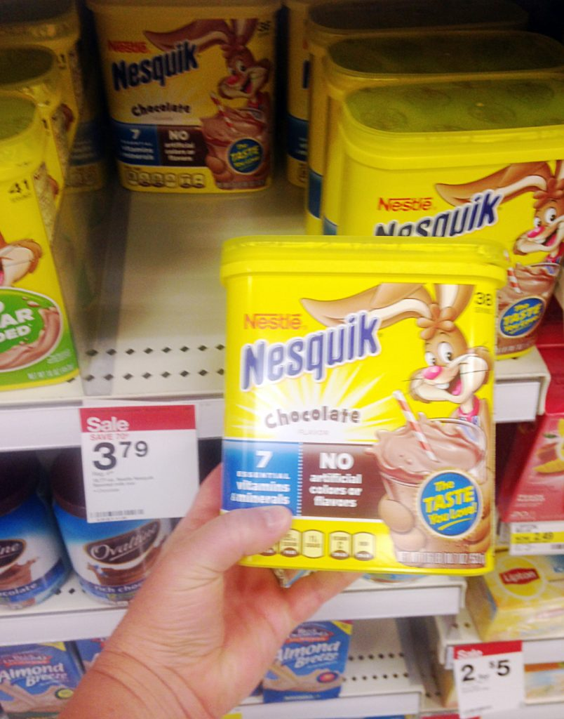 Back to School Fuel with Nesquik #StirImagination #ad