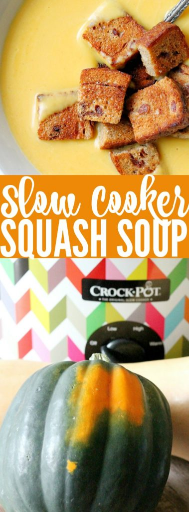 Slow Cooker Squash Soup