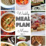 Weekly Meal Plan