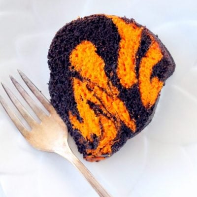 Bengal Striped Bundt Cake