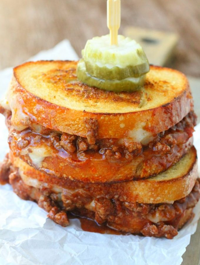 Manwich Grilled Cheese by Foodtastic Mom #ManwichNight #AD