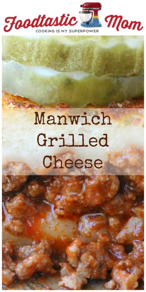 Manwich Grilled Cheese by Foodtastic Mom #ManwichNight #AD