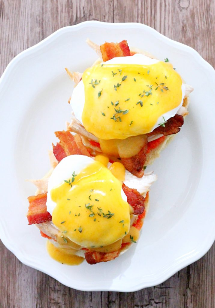 Kentucky Hot Brown Eggs Benedict by Foodtastic Mom