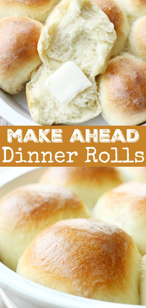 Make Ahead Dinner Rolls | Foodtastic Mom #rollrecipe #dinnerrollrecipe #makeaheaddinnerrolls #thanksgiving #thanksgivingrecipes