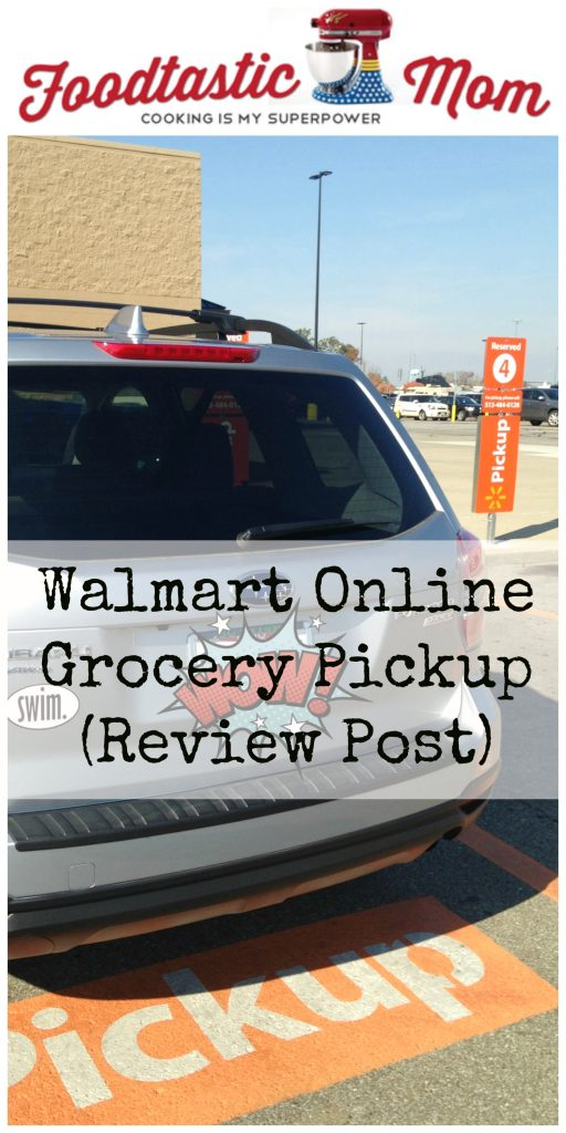 Walmart Online Grocery Pickup (Review Post) by Foodtastic Mom #GroceryHero #ad