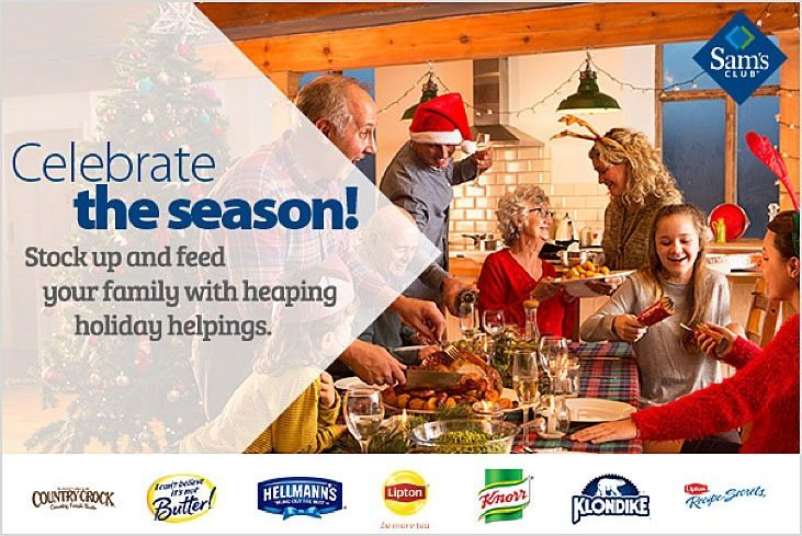Celebrate the Season with Sam's Club and Unilever