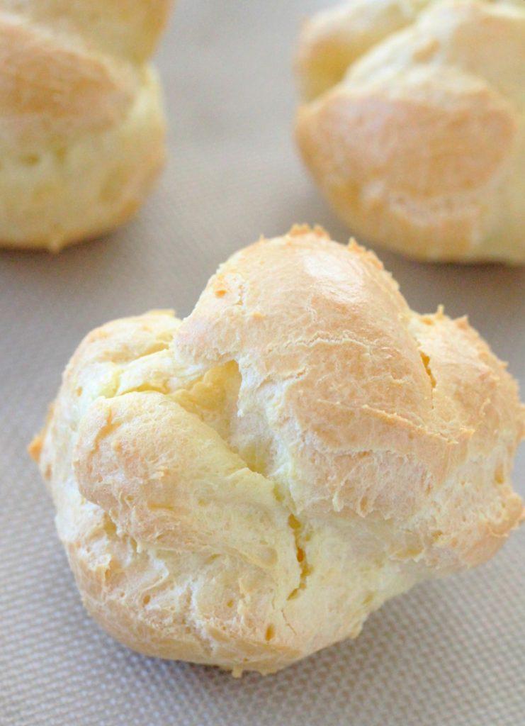 Buckeye Cream Puffs by Foodtastic Mom