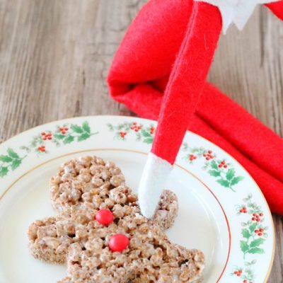 Tidbits and Krispie Cocoa Men #TidingsandTreats #ad