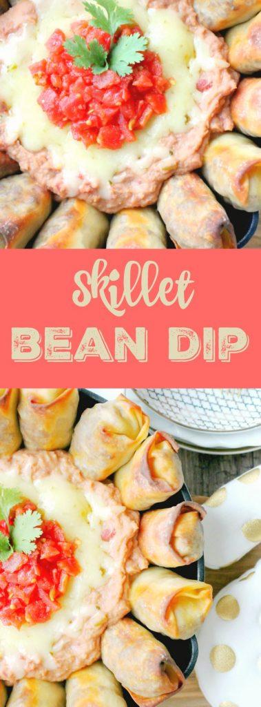Skillet Bean Dip