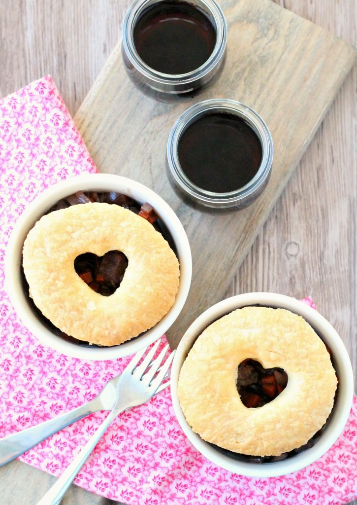 Make Ahead Beef Burgundy Pot Pies by Foodtastic Mom (AD)