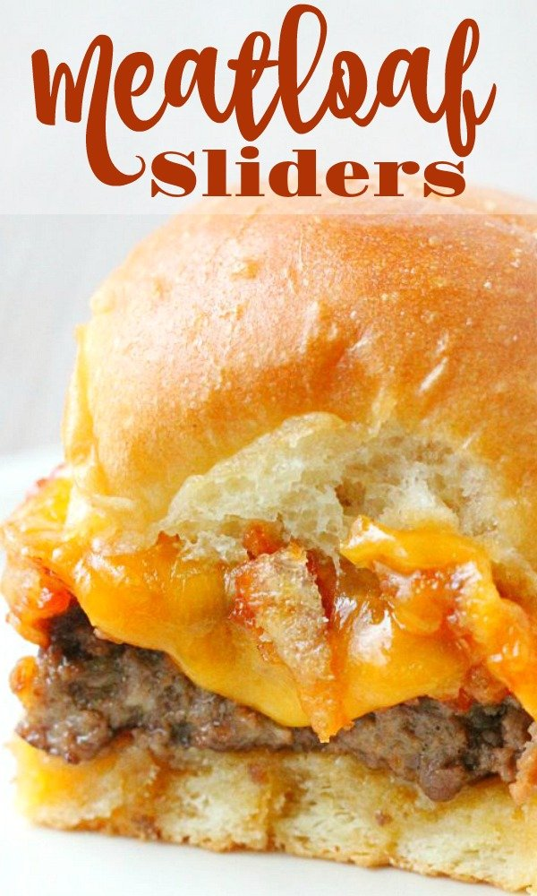 Meatloaf Sliders | Foodtastic Mom #gamedayrecipes #meatloaf #sliders #meatloafsliders