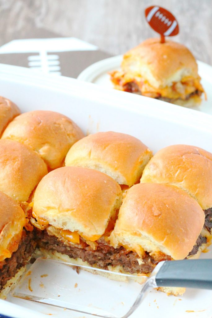 Meatloaf Sliders by Foodtastic Mom