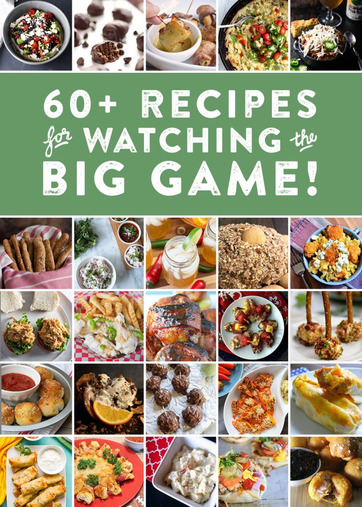 60+ recipes for watching the Super Bowl