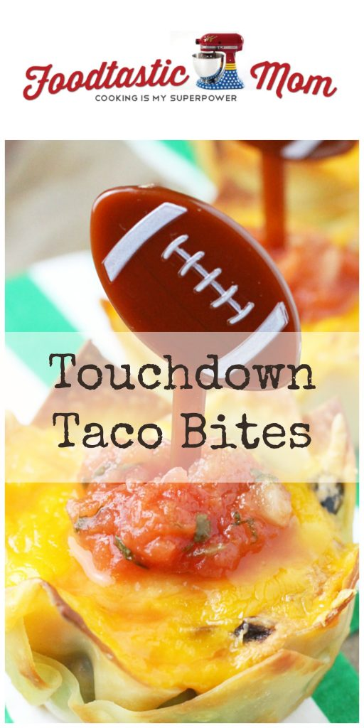 Touchdown Taco Bites by Foodtastic Mom (AD)