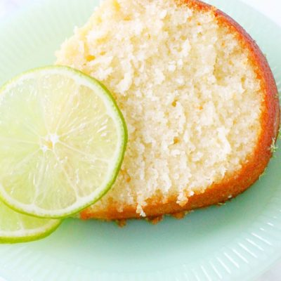 Buttermilk Lime Pound Cake