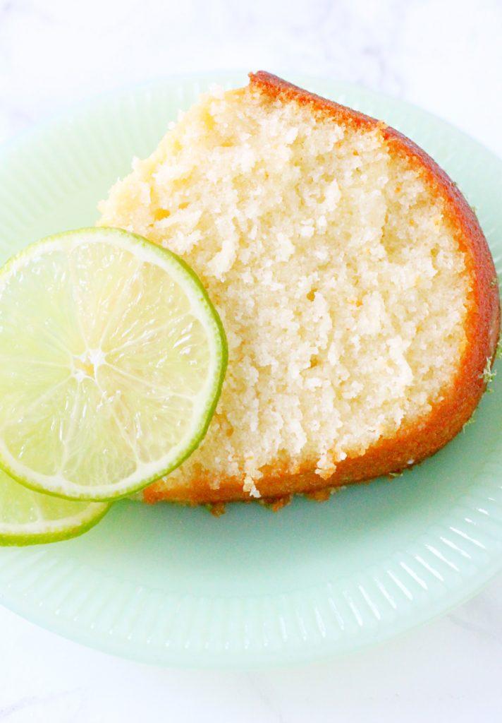 Buttermilk Lime Pound Cake