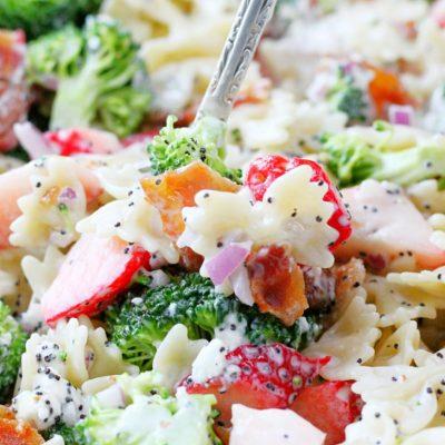 Summer Broccoli Pasta Salad