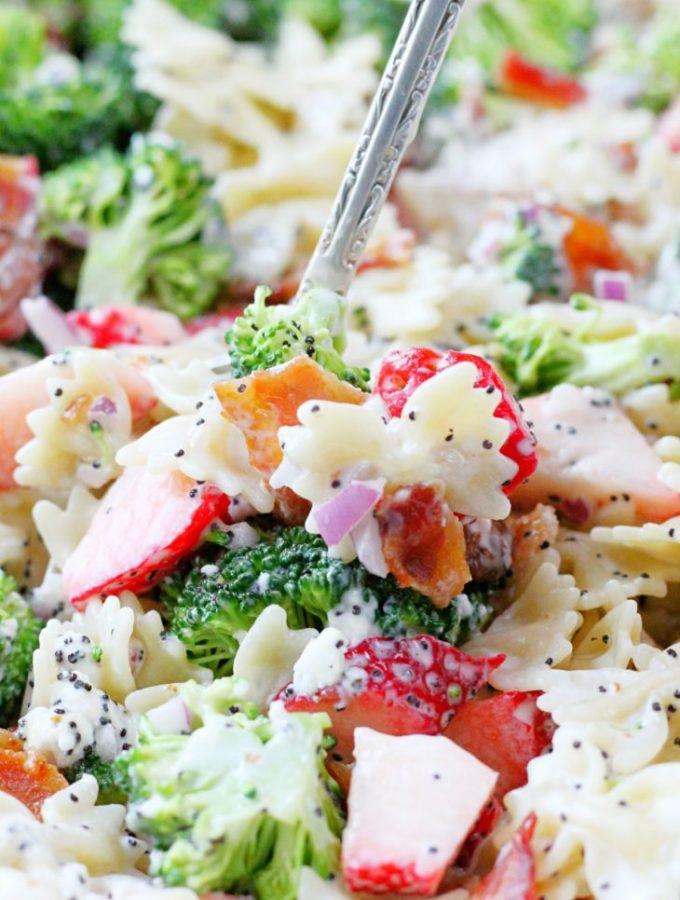 Summer Broccoli Pasta Salad (AD)
