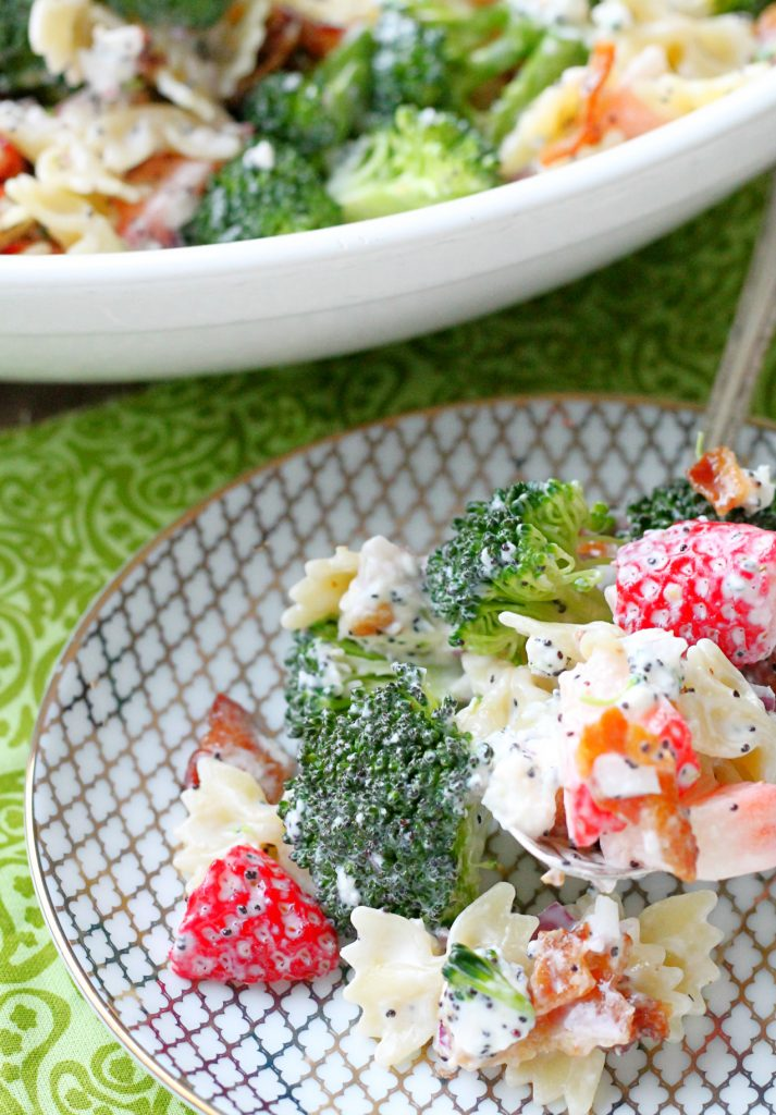 Summer Broccoli Pasta Salad (AD)