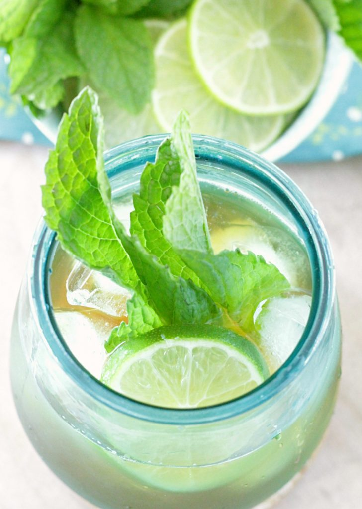Mojito Iced Tea - Foodtastic Mom