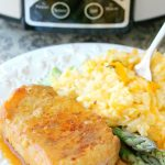 Slow Cooker Maple Dijon Pork Chops