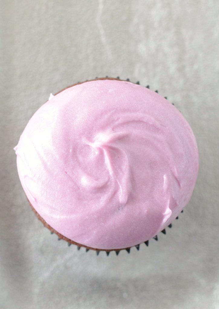 Black Raspberry Chocolate Stout Cupcakes