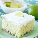 Pretzel Crusted Margarita Cake
