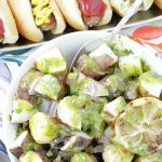 Grilled Mustard Potato Salad