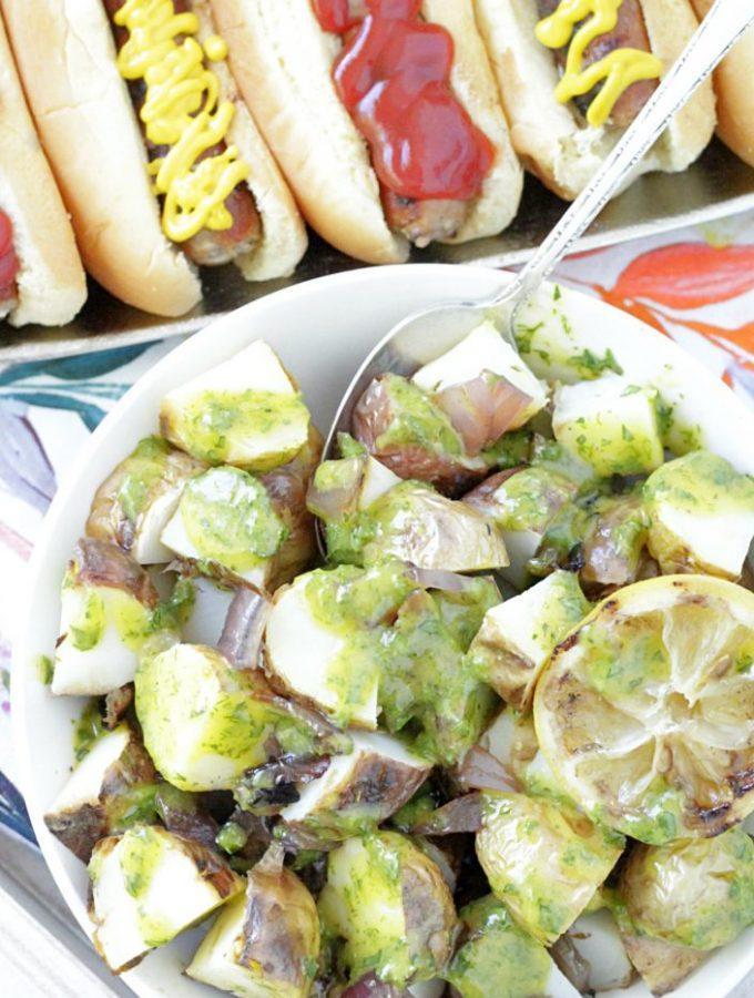 Grilled Mustard Potato Salad