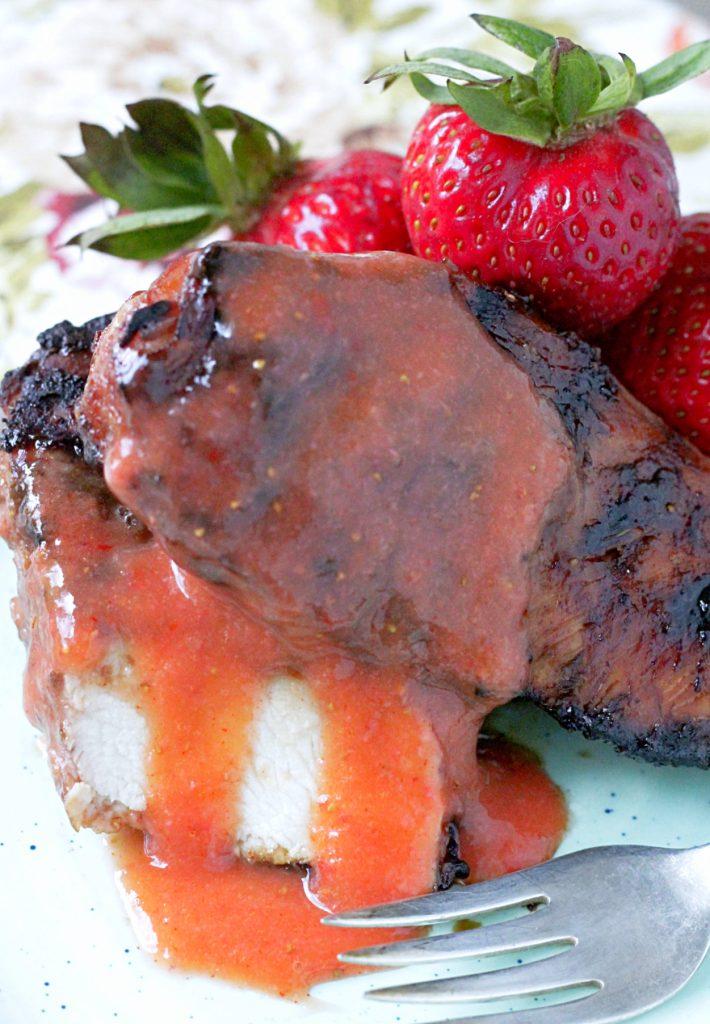 Strawberry BBQ Sauce