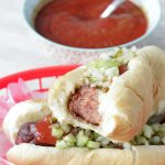 Bloody Mary Hot Dogs