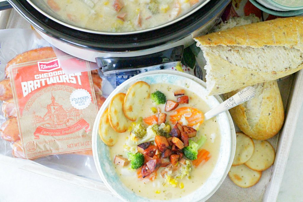 Slow Cooker Sausage Chowder