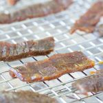 Peach Balsamic Beef Jerky