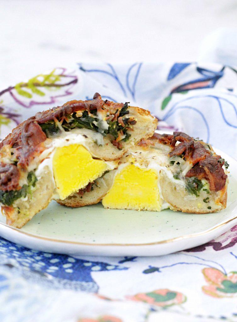 Breakfast Pizza Bagels Foodtastic Mom