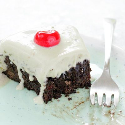 Spumoni Brownie Torte