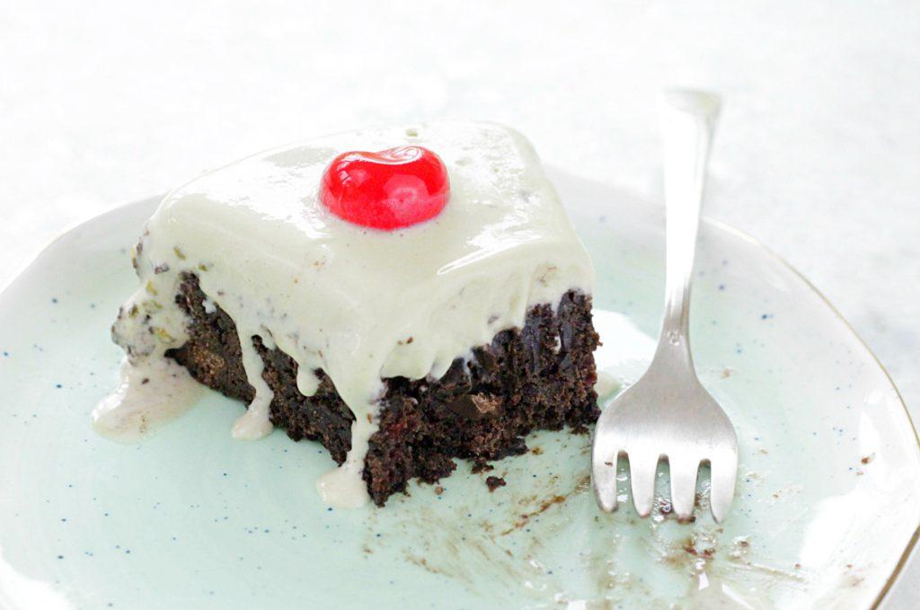 Spumoni Brownie Torte