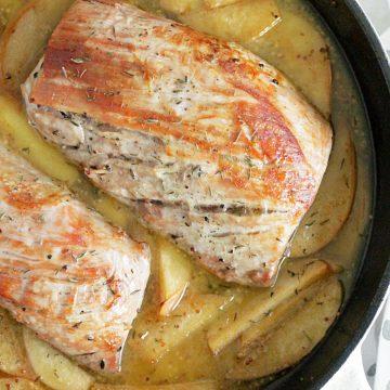 Apple Cider Pork Tenderloin with Premium Vegetables #ad #alexiaveggiesides