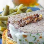 Slow Cooker French Onion Meatloaf #crocktober #ad