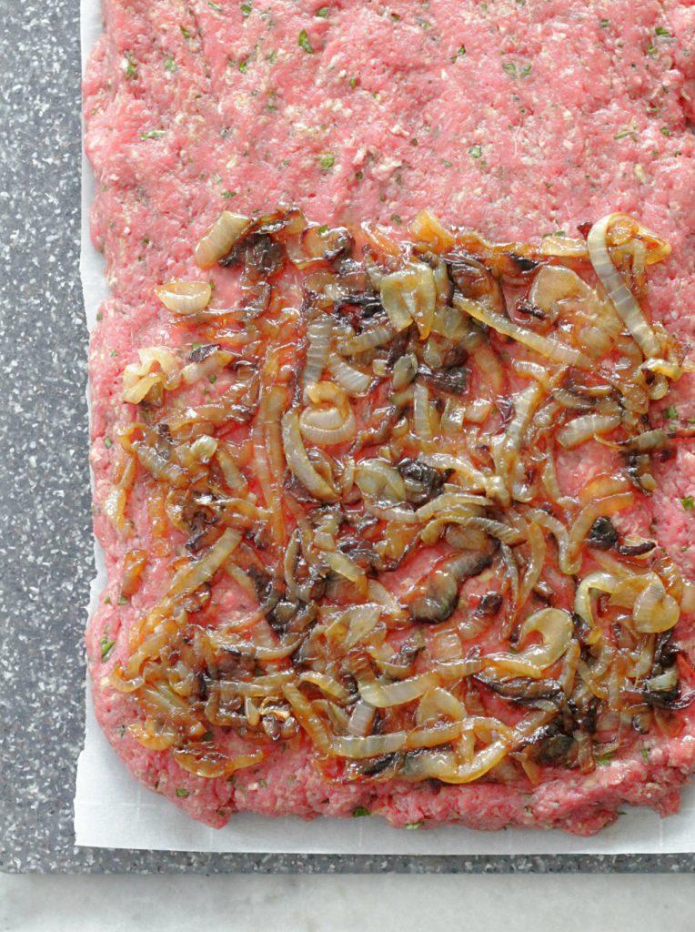 Slow Cooker French Onion Meatloaf #crocktober #ad