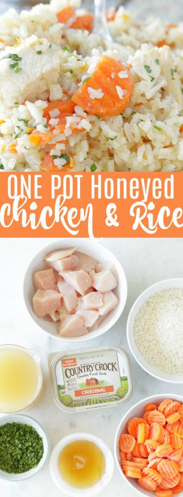 One Pot Honeyed Chicken and Rice