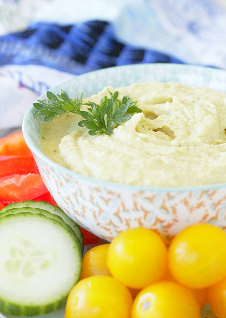 Tahini Free Hummus