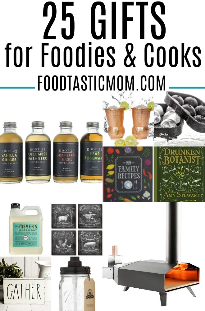 25 Gift Ideas for Foodies and Cooks