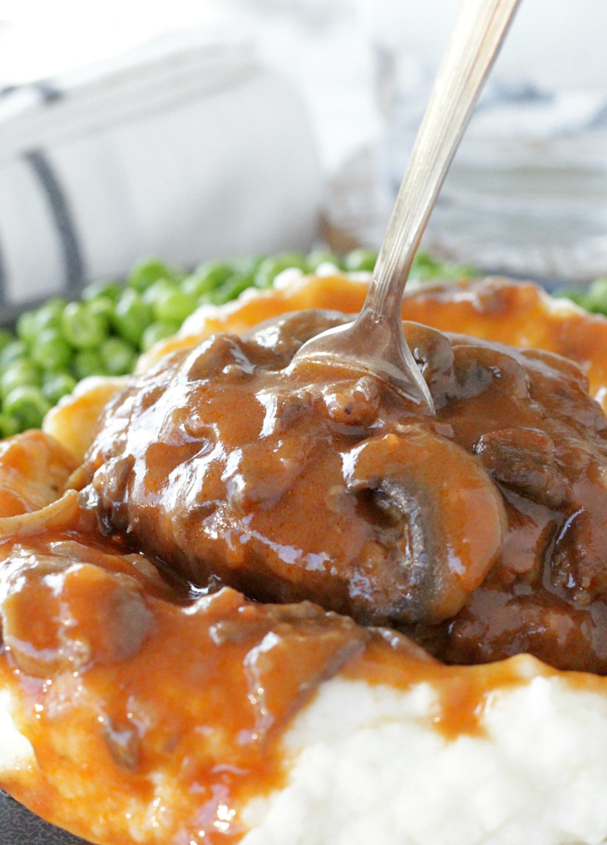 The Best Salisbury Steak