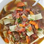 Beef Noodle Soup – made with leftover pot roast